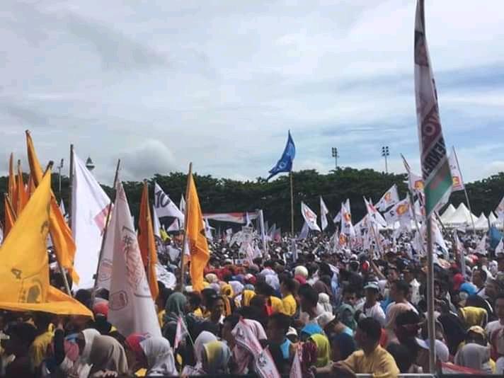 Penampakkan Massa Sulawesi Seperti Ini, Prabowo Makin Yakin Menang?