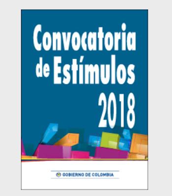 Convocatorias de Estímulos 2018