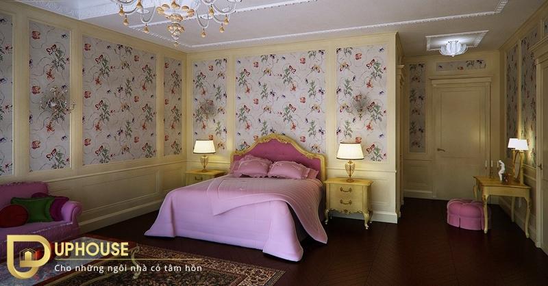 Phòng ngủ tân cổ điển đẹp 04