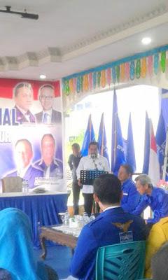 Kegiatan Musda PAN ll Boltim, dibuka oleh DPW PAN Sulut, Sehan Salim Landjar SH.