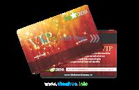 In thẻ tích điểm bằng thẻ nhựa pvc