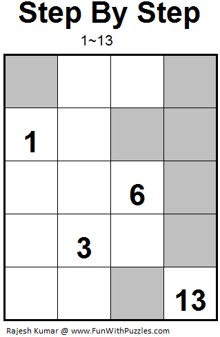 Step by Step (Mini Puzzles Series #14)