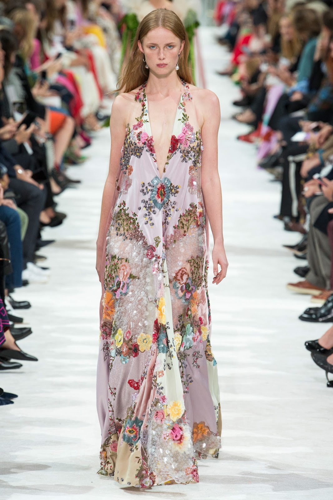 The Most Beautiful Dresses From the Valentino Fall 2015