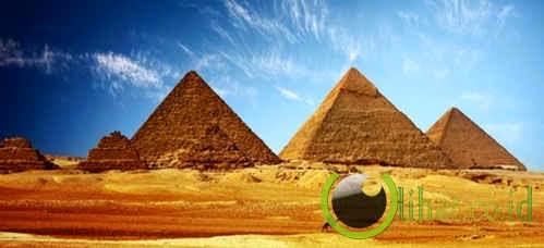 Piramida Agung Giza, Mesir
