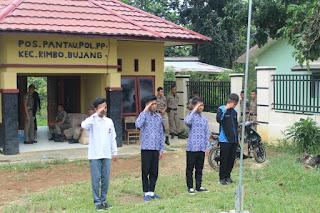 Bolos, 8 Orang Pelajar Rimbo Bujang Dihukum Nyanyikan Lagu Indonesia Raya