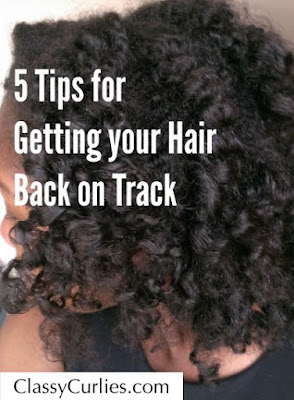 Getting your Natural Hair Back on Track