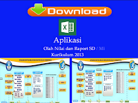 Aplikasi Olah Nilai dan Raport SD/MI Kurikulum 2013