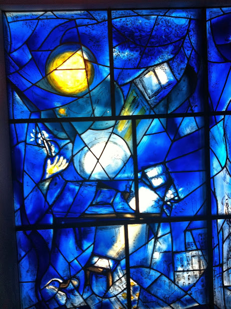 Marc Chagall Stained Glass Art Institute of Chicago