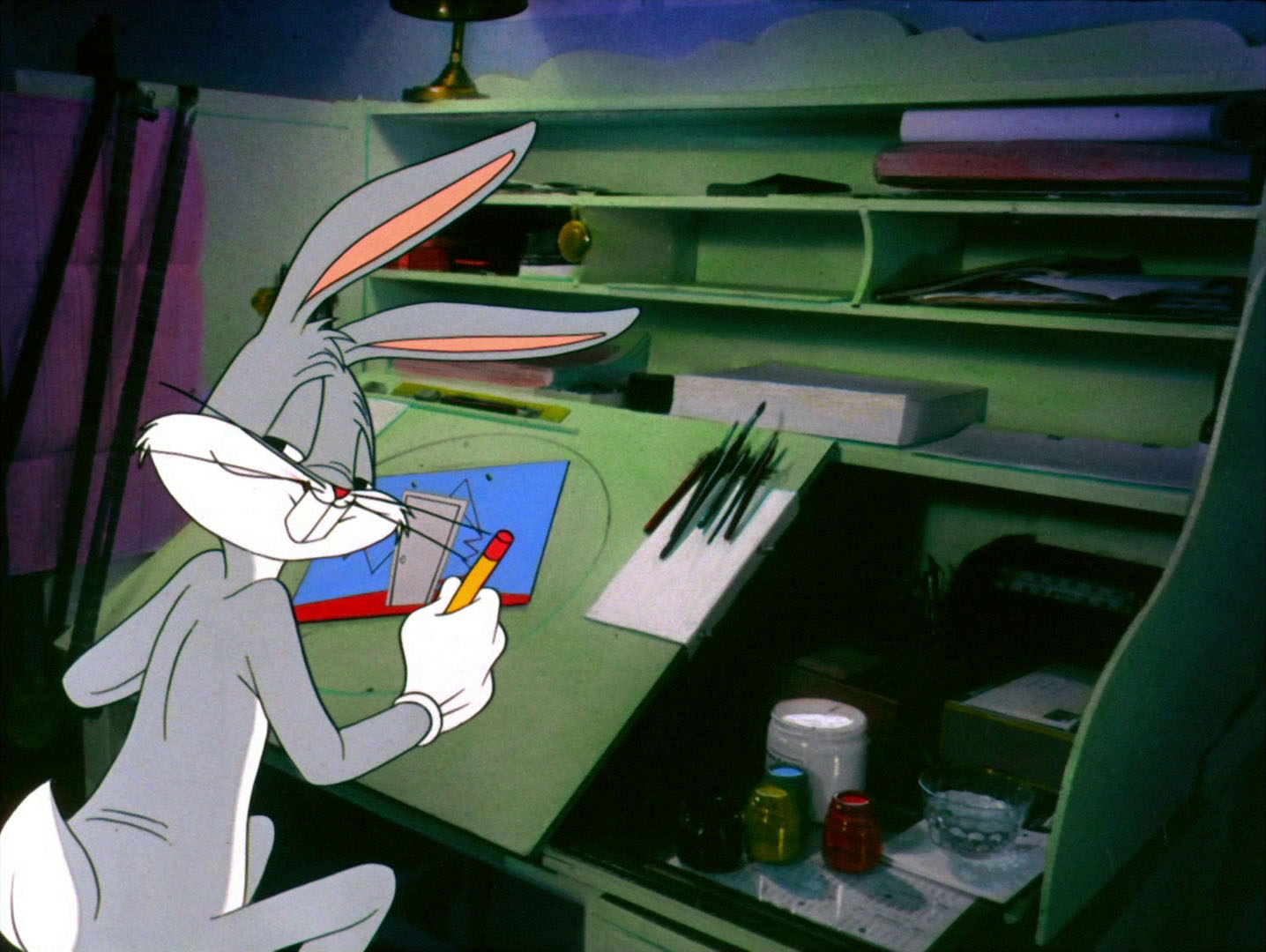 Wallpaper Tank Girl Looney Tunes Pictures Quot Duck Amuck Quot