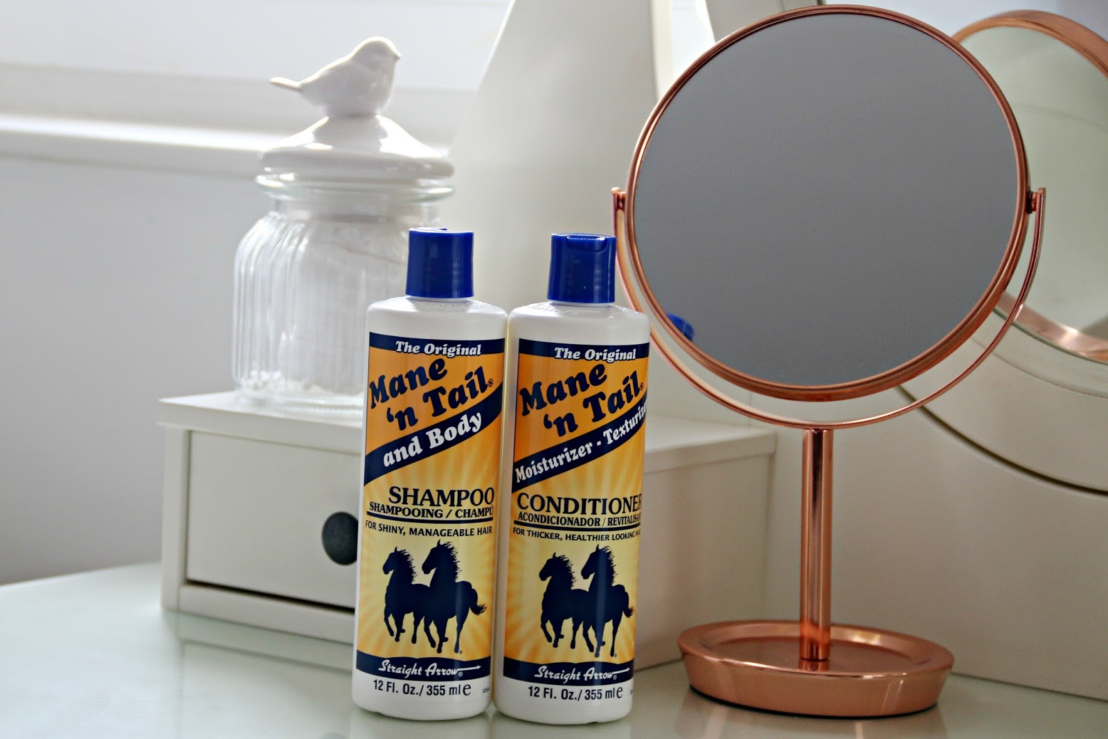 Mane 'n Tail Shampoo and Conditioner Review by UK Beauty Blogger WhatLauraLoves