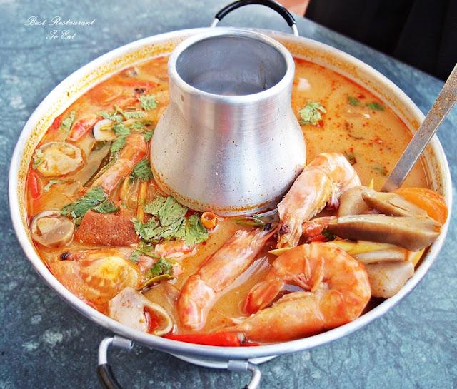 Aroi Dee Thai Restaurant Putrajaya Palm Garden Hotel IOI Resort Seafood Thai Tom Yam Kung