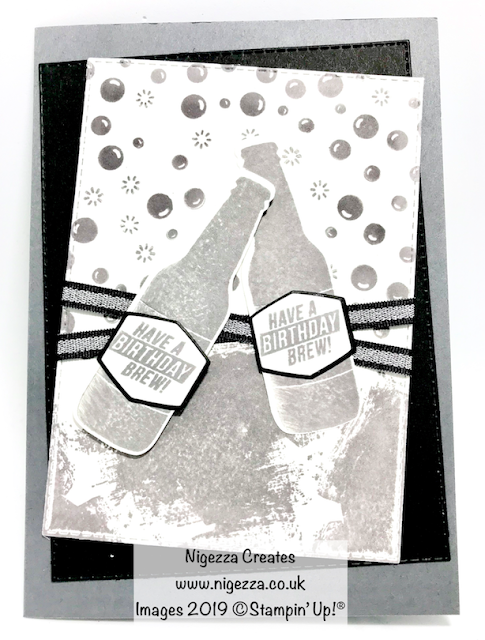 Bubble Over Stampin Up