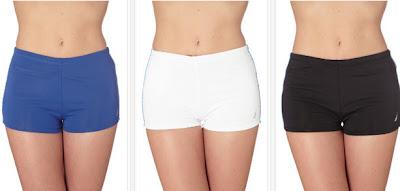 Shorts de baño para mujeres