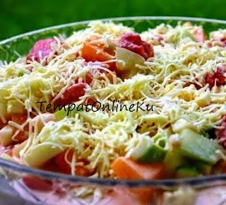 salad buah enak segar