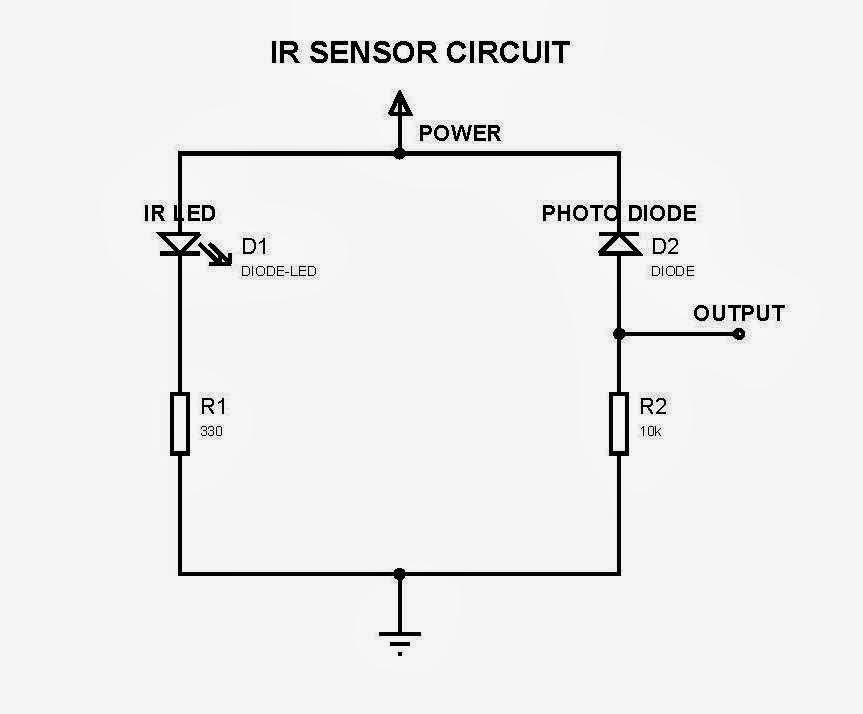 irphoto diode sensor for electronics