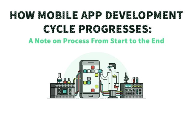 How Mobile App Development Cycle Progresses