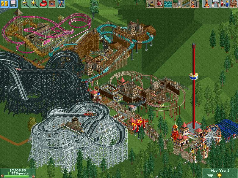 GameGuideFAQ: RCT2 Scenario Guide - Crazy Castle Tips & Walkthrough