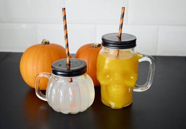 Wilkinsons Halloween Drinking Jars