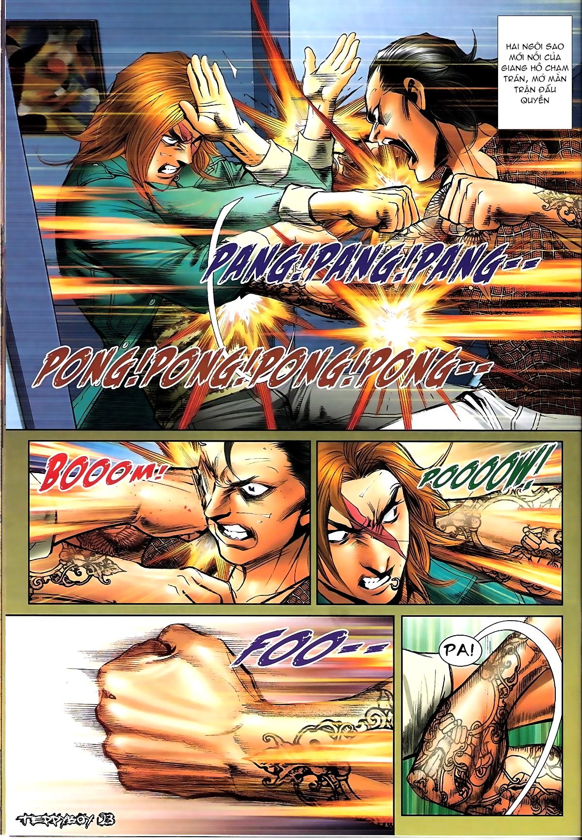 Người Trong Giang Hồ - Chapter 1329: Thằng hèn - Pic 20