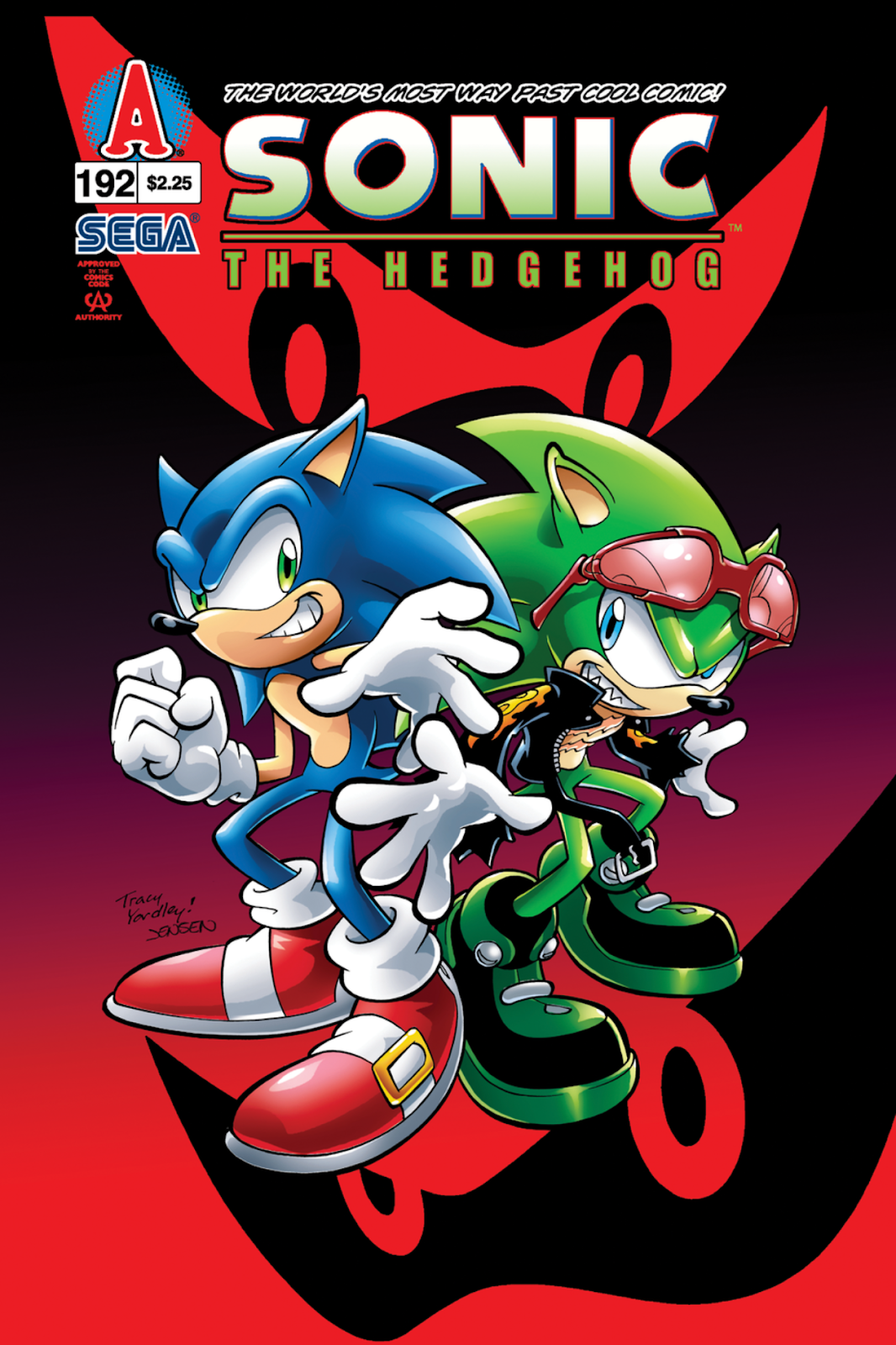 192 Best Images About Tarot: Hedgehogs Can't Swim: THE 2008 SONIC THE HEDGEHOG COMIC