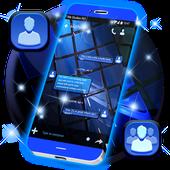 Blue SMS Theme APK