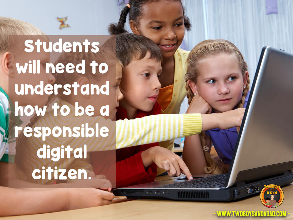 Being a good digital citizen is an important skill