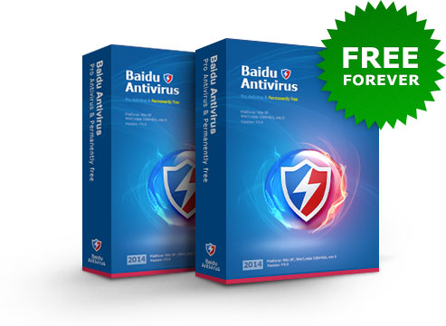 Baidu Antivirus - Permanent Free + Ultra Fast Cloud Security