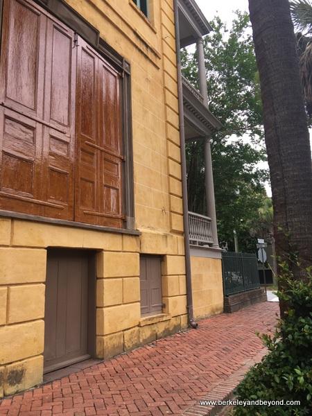 exterior of Aiken-Rhett House Museum in Charleston, South Carolina