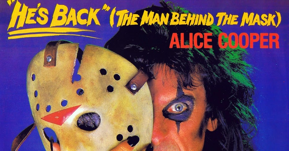 Bolivian Hair Metal Forever Alice Cooper He S Back The Man Behind The Mask 1986