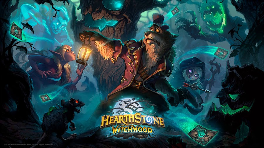 hearthstone witchwood expansion announced