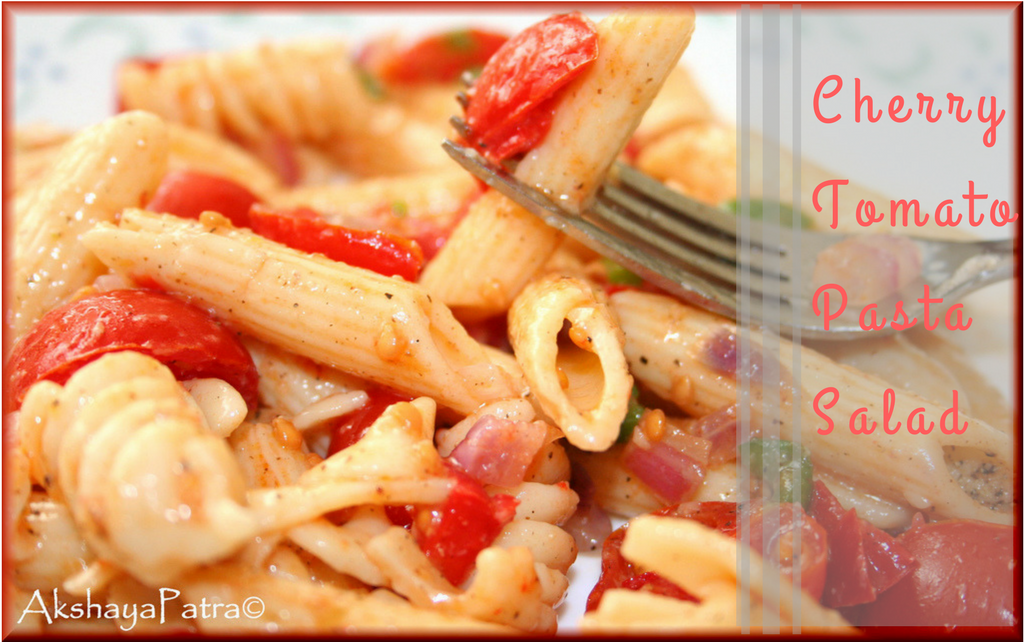 how to make tomato pasta salad