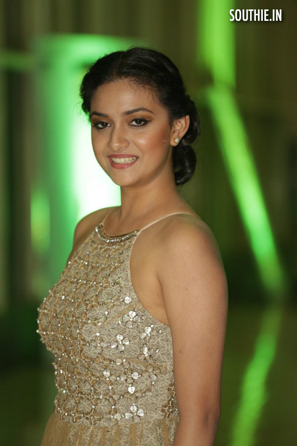 Keerthy Suresh sports a beautiful smile at a recent event. Keerthy Suresh Heroine of Vijay 60, Vijay 60 Heroine Keerthy Suresh, Southie.in Southie, Vijay 60 Heroine, Bharathan Movie, Latest images of Keerthy Suresh, hot Keerthy Suresh, Sexy Keerthy Suresh, Sensual Keerthy Suresh