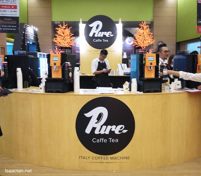 Pure Caffe Tea - Italy Coffee Machine