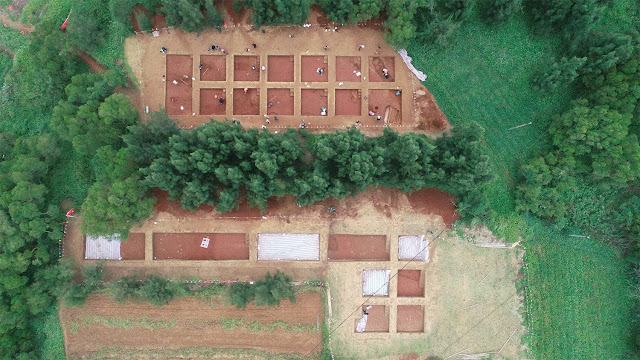 Ancient village site, tomb found on island in southeast China's Fujian Province