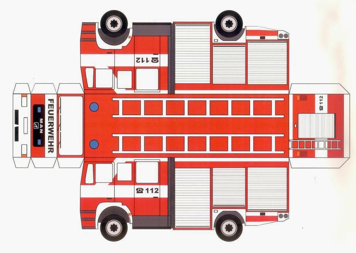 Feuerwehr Malvorlagen Gratis