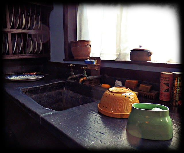 Scullery at Lanhydrock House, Cornwall