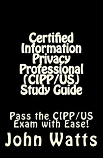 Reference material on IAPP CIPP and CIPT privacy certification