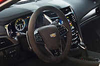 New 2016 Cadillac CTS-V review Test Performance drive wheel view