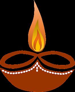 Diwali Diya Free Clipart, Diwali Greetings Clipart
