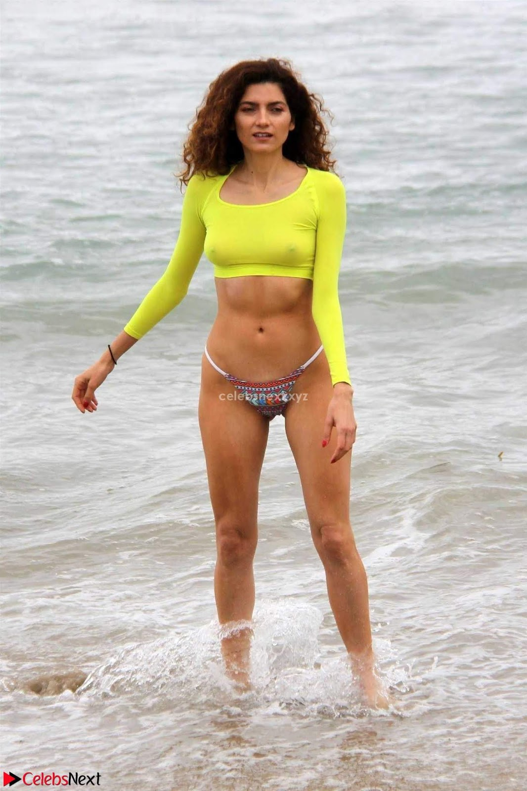 Blanca Blanco  in Swimsuit Nipples Clearly Visible June 2018 ~ CelebsNext.xyz Exclusive Celebrity Pics
