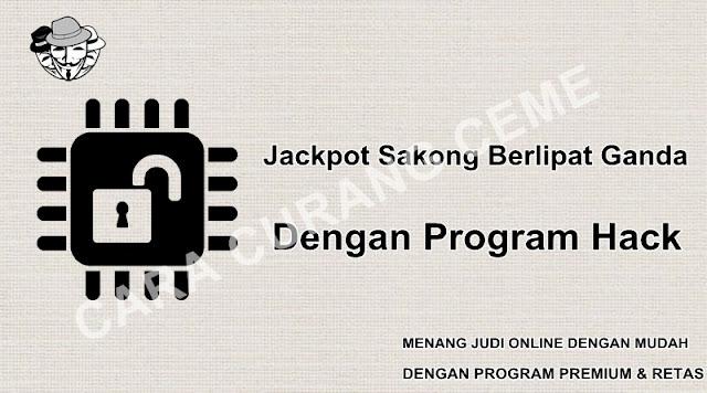 Jackpot Sakong Berlipat Ganda Dengan Program Hack