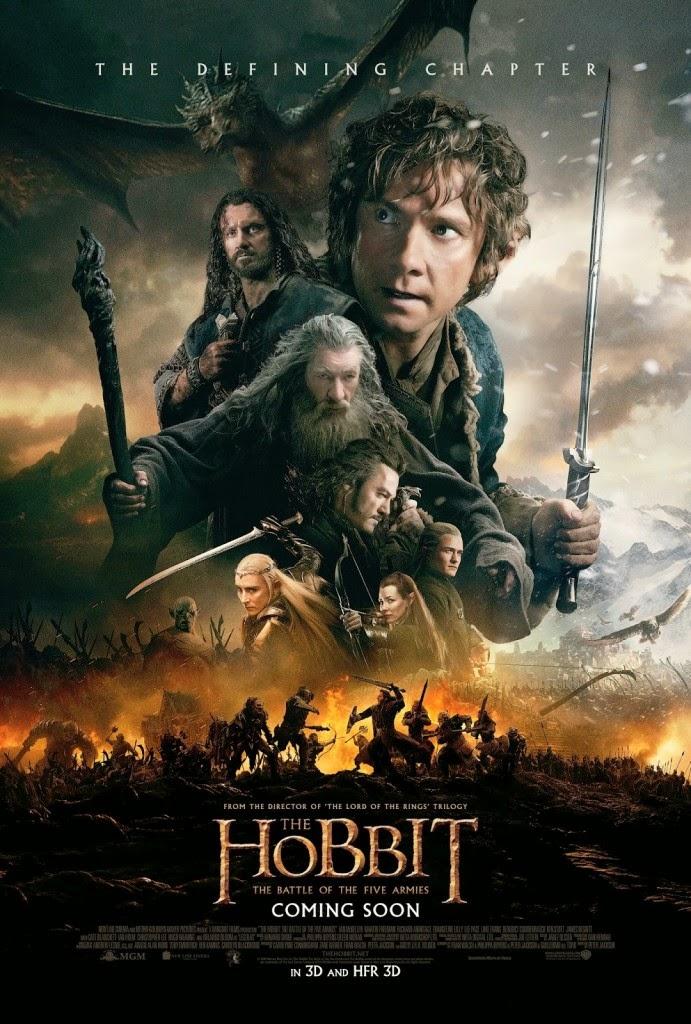 hobbit bitwa pięciu armii recenzja filmu peter jackson martin freeman