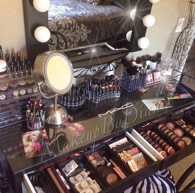 Makeup Tafel Ikea My Perfect Vanity | Southern Beauty Guide | Bloglovin'