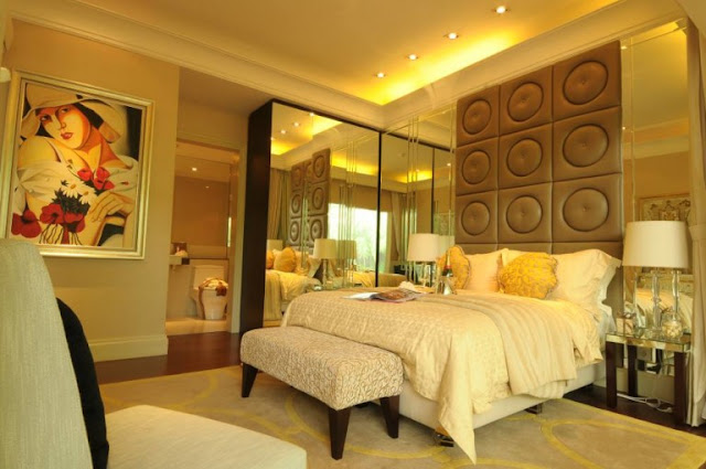Kamar Tidur Bernaunsa Putih Klasik Modern Kamar Tidur Bernaunsa Putih Klasik Modern