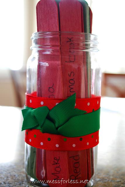 easy Advent Jar