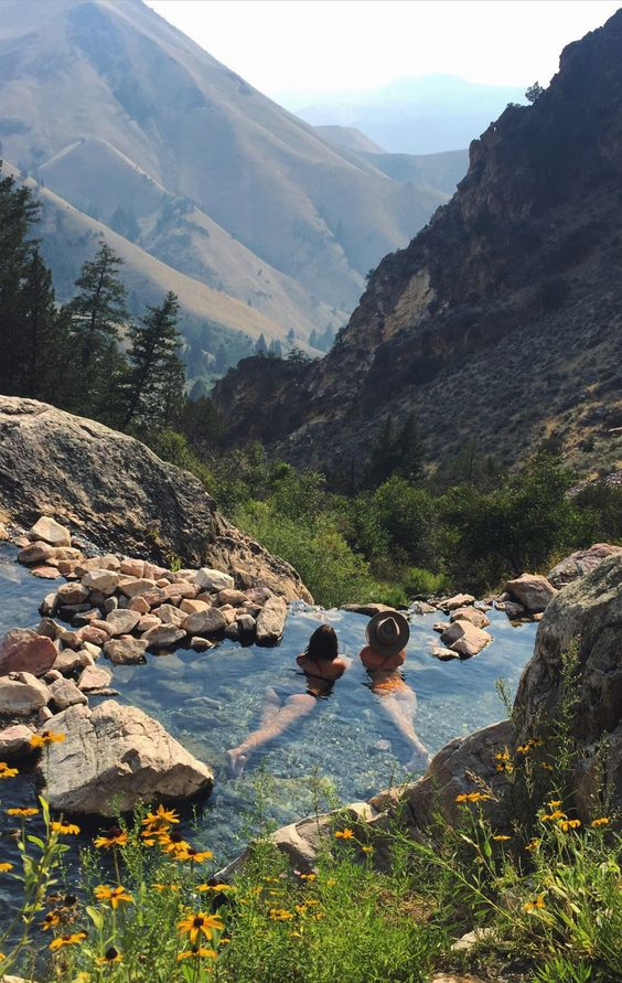 Ranking - Hot springs in Idaho