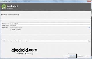 Buat Project Baru Android Studio