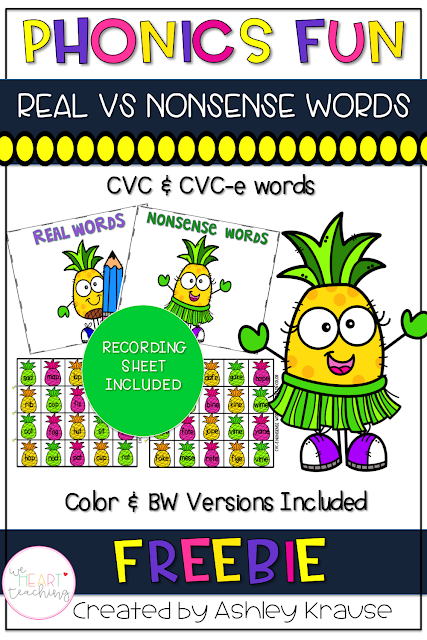 https://www.teacherspayteachers.com/Product/Phonics-Fun-CVC-CVC-E-Words-3284918