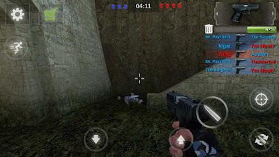 لعبة Counter Attack Team 3D Shooter للأندرويد, افضل العاب multiplayer للاندرويد