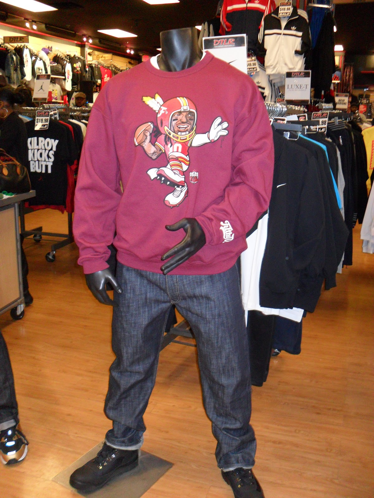 Dtlr clothing store